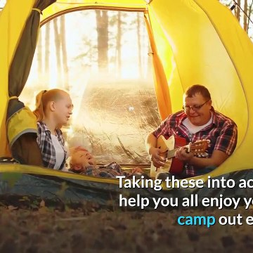 Planning Your Family Camping