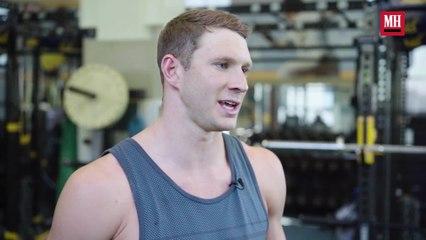 Olympic Gold Medal Swimmer Ryan Murphy | Train Like A Celeb