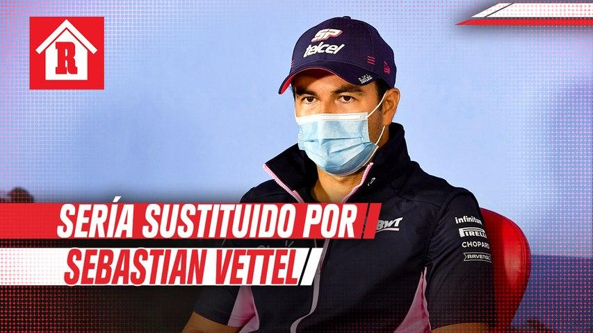Checo Pérez sería sustituido por Sebastian Vettel en Racing Point