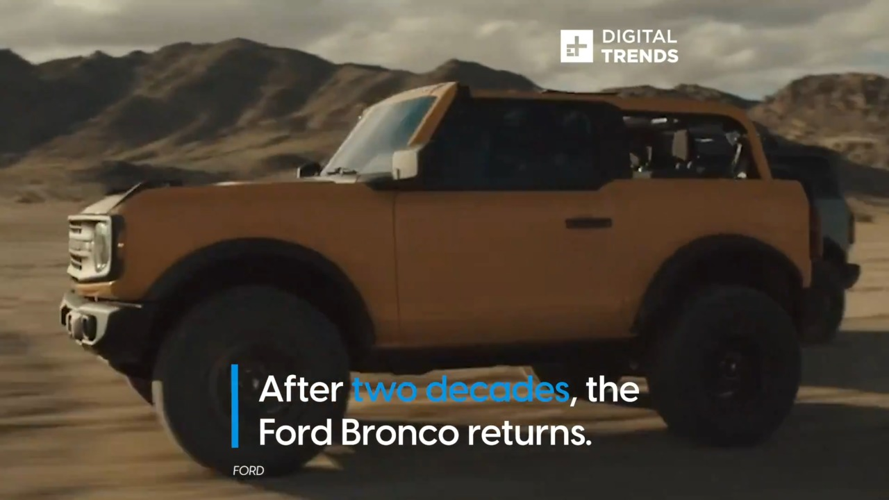 The Ford Bronco Returns After Two Decades