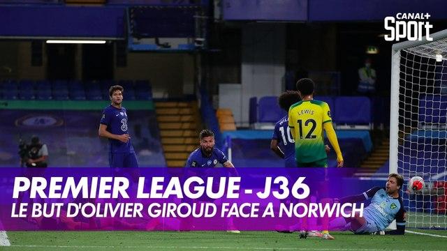 Le but d'Olivier Giroud face à Norwich