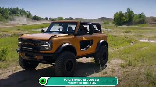 Ford Bronco já pode ser reservado nos EUA