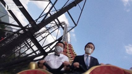 Scream inside your heart, Japan roller-coaster riders told