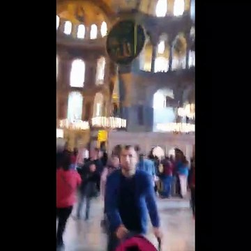 Hagia Sophia (Turkish President Mr. Erdogan formally designates Hagia Sophia as a Mosque)