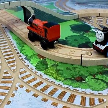 Thomas & Friends Adventure Thomas and the missing cargo train car Cranky at Brendam Docks