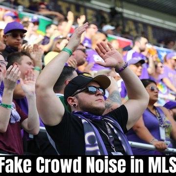 Fake Crowd Noise in MLS