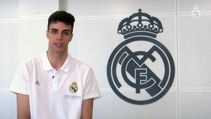 """El Real Madrid confirma a Alocén como primer 'fichaje': """"Estoy feliz de vestir esta camiseta"""""""