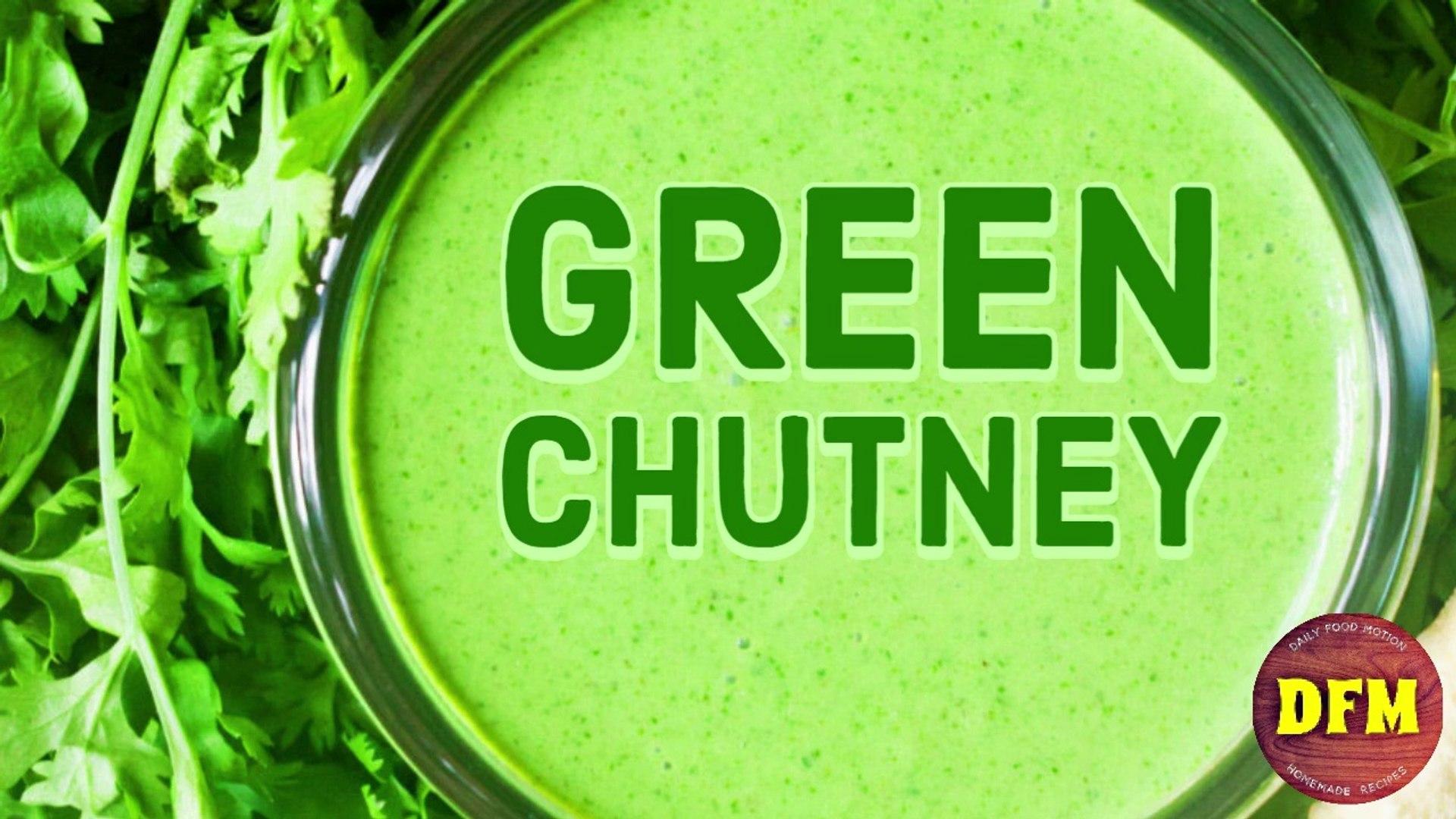 Green Chutney Recipe  -  #Green #Chutney #Recipe