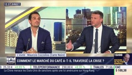 Maurizio Cozzolino (Carte Noire) : Comment le marché du café a-t-il traversé la crise ? - 15/07