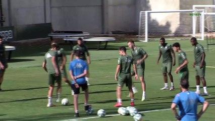 Entrenamiento del Betis del miércoles 15 de julio, previo al choque ante el Alavés