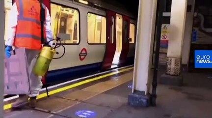 New coronavirus-themed Banksy appears on London Underground