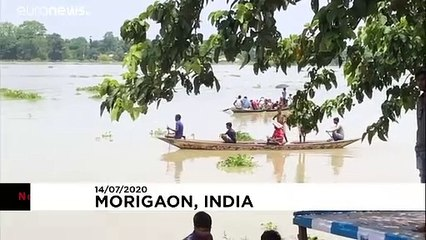 Floods wreak havoc in northeastern India