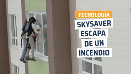 [CH] SkySaver, escapa de un incendio lanzándote por la ventana