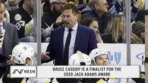 Bruce Cassidy Named Finalist For Jack Adams Award