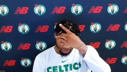 """Marcus Smart press conference: Celtics """"kicking each other's a**es."""""""