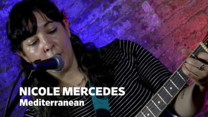"""Dailymotion Elevate: Nicole Mercedes - """"Mediterranean"""" live at Cafe Bohemia, NYC"""