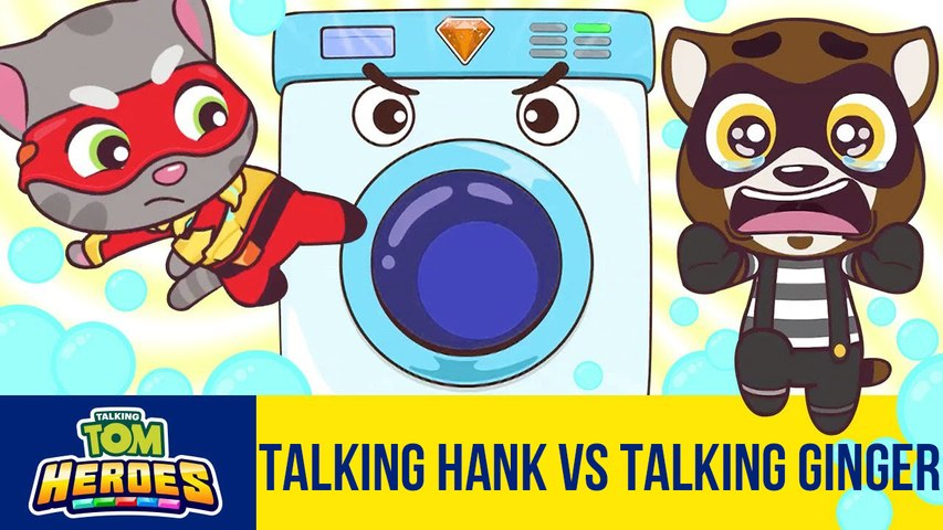 Run!Run!Run!Talking Tom Heroes - Talking Hank vs Talking Ginger - 2T Gaming
