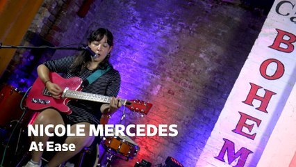 """Dailymotion Elevate: Nicole Mercedes - """"At Ease"""" live at Cafe Bohemia, NYC"""