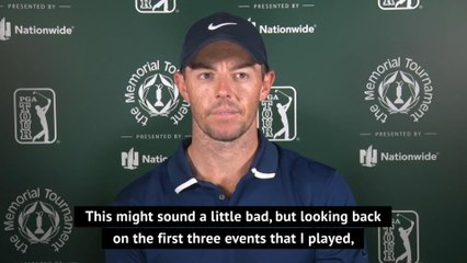 McIlroy not focusing on hanging onto number one ranking at Memorial