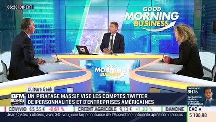 Culture Geek: Un piratage massif vise les comptes Twitter de personnalités et d'entreprises américaines, par Frédéric Simottel - 16/07