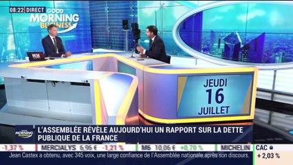 Laurent Saint-Martin (Laurent Saint-Martin) : Le choc du coronavirus représente 22 points de PIB pour la dette publique - 16/07