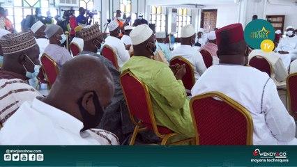 Prière mortuaire du premier Ministre Amadou Gon Coulibaly à la grande mosquée de la Riviera 2