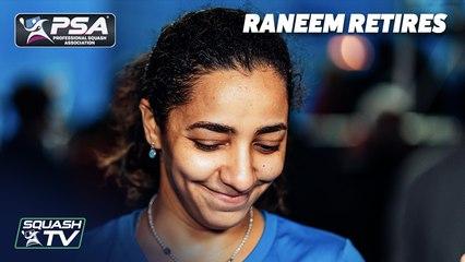 Squash: World No.1 Raneem El Welily Retires - In her Own Words
