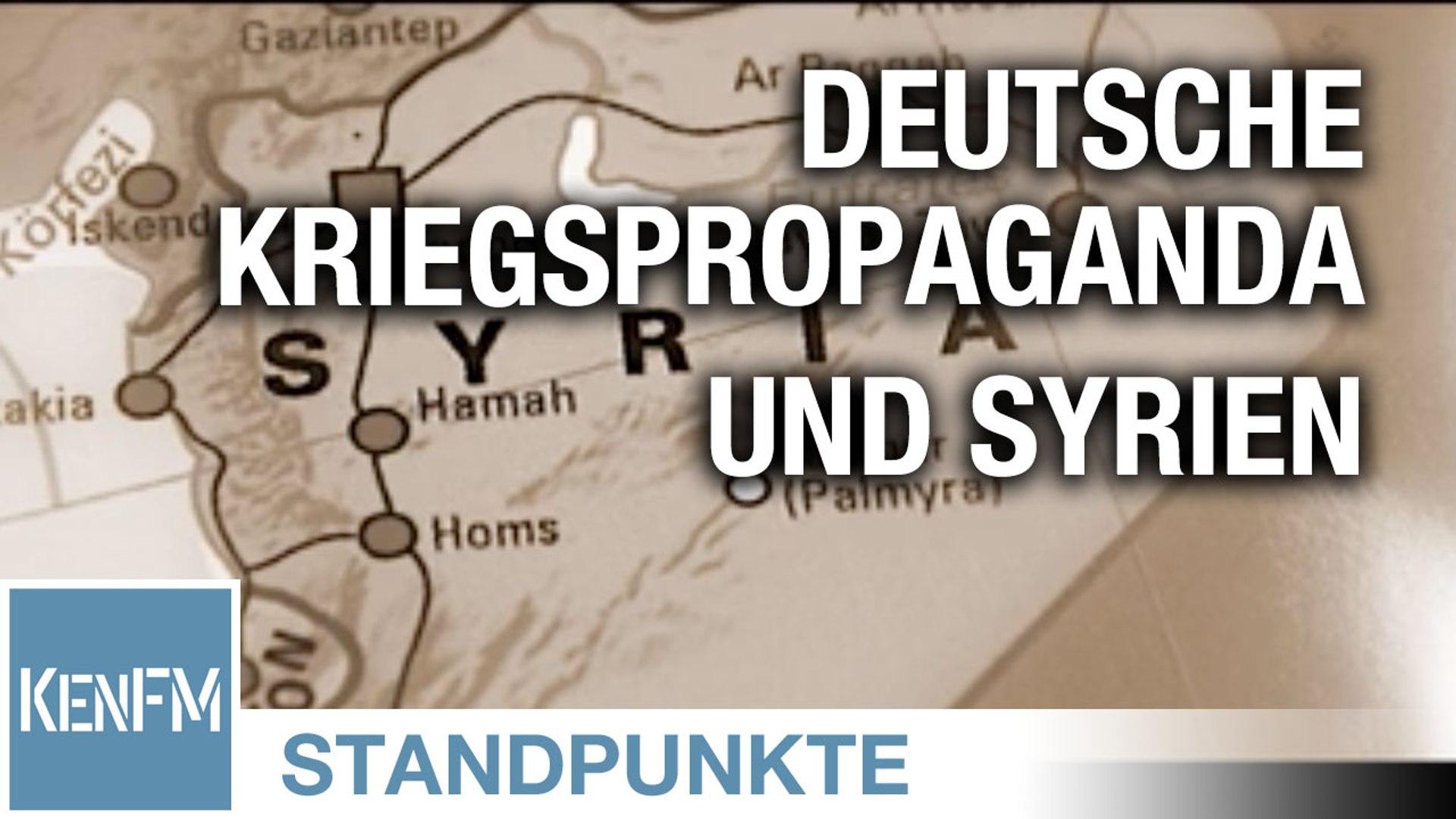 Deutsche Kriegspropaganda und Syrien | Von Jochen Mitschka