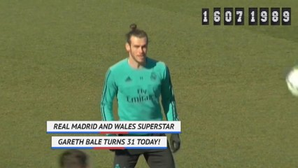 Born This Day - Gareth Bale turns 31