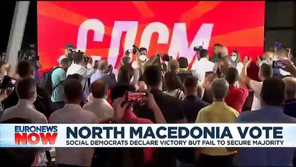 North Macedonia votes: Voting website 'hacked' as pro-western incumbents claim victory