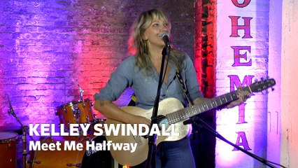 "ONE ON ONE: Kelley Swindall - ""Meet Me Half Way"" live at Cafe Bohemia, NYC"