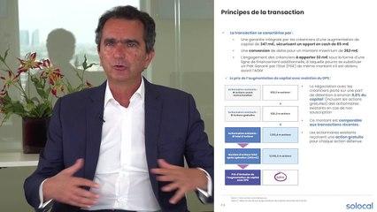 Solocal – Pierre Danon décrypte l'opération