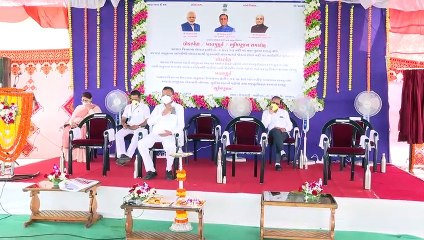 VALSAD DEVELOPMENTAL WORKS LAUNCHED AND GROUND BREAKING CEREMONY BY NITIN PATEL