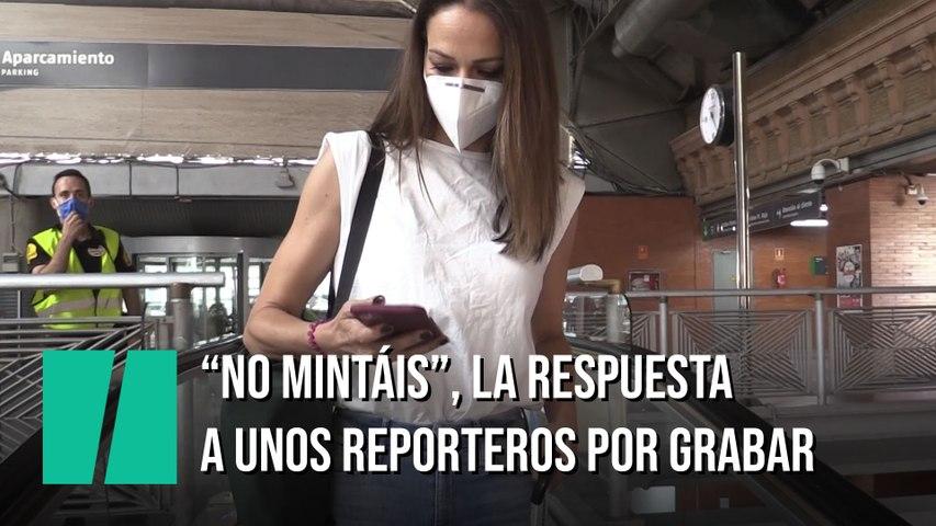 """""""No mintáis"""", la respuesta a unos reporteros en Atocha"""
