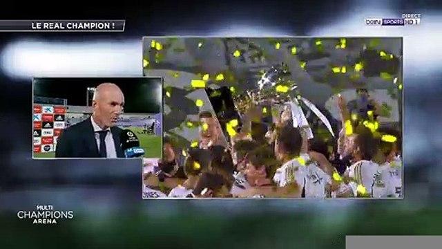 """Zinédine Zidane : """"Des hommes avant d'être des joueurs de foot"""""""
