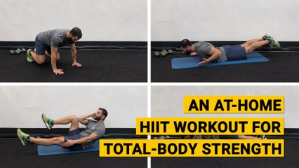 An At-Home HIIT Workout for Total-Body Strength