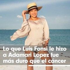 Lo que Luis Fonsi le hizo a Adamari López fue imperdonable
