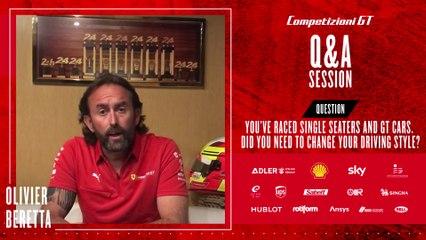 Ferrari Races Q&A - Olivier Beretta