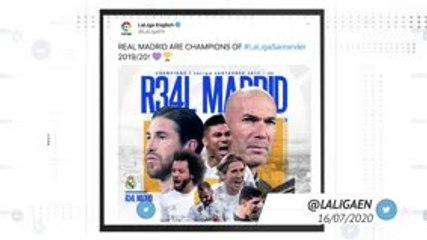 Socialeyesed - Real seal 34th LaLiga title