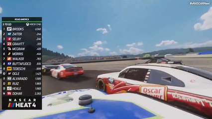 No give, all take: Xbox gamers get aggressive at Road America