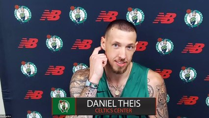Daniel Theis press conference: Life inside NBA Bubble