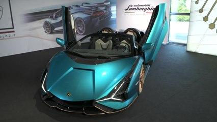 La Lamborghini Sián Roadster - Progettata per il futuro