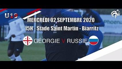 Programme des matches - Tour Élite UEFA U19