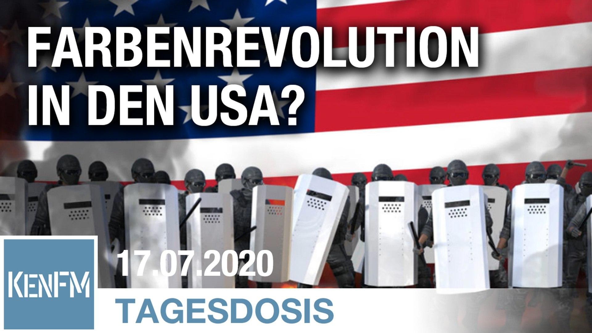 Eine Farbenrevolution in den USA? | Von Rainer Rupp
