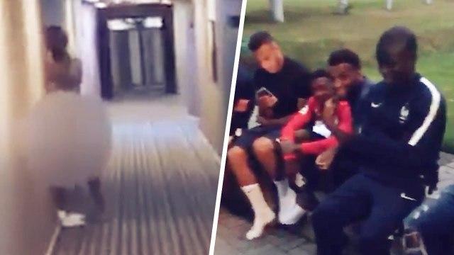 La nouvelle vidéo qui montre pourquoi les Bleus ont été virés de leur hôtel à la CDM  | Oh My Goal