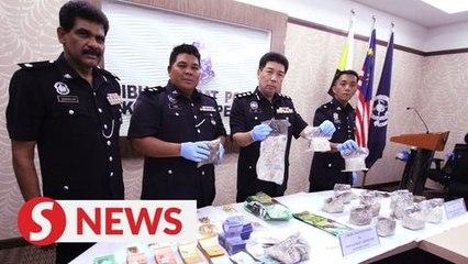Perak cops nab six, including husband and wife in multiple drug raids