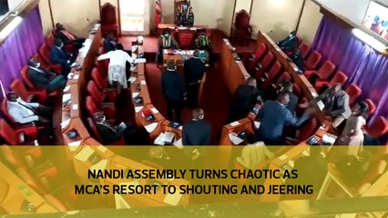 Nandi Assembly turns chaotic as MCA's resort to shouting and jeering