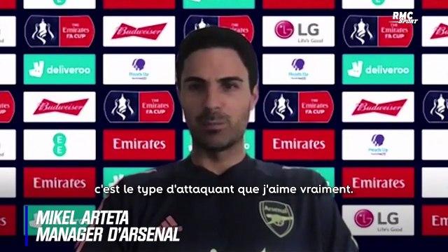 """Arsenal : """"Je suis très content de lui"""", Arteta encense Lacazette (et veut le garder)"""