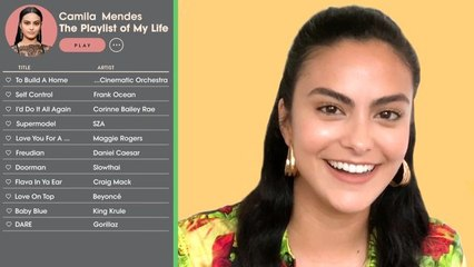 Camila Mendes Creates the Playlist of Her Life