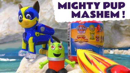 Paw Patrol Mighty Pups Mashems Rescue with DC Comics Mr Freeze and Thomas and Friends with the Funny Funlings in this Full Episode English Toy Story for Kids